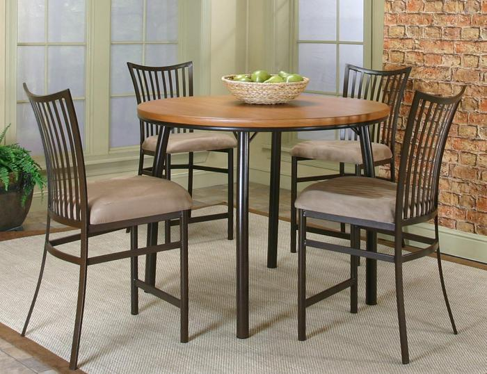 Brothers Fine Furniture Bellevue Oiled Cherry 5 Piece Pub Set